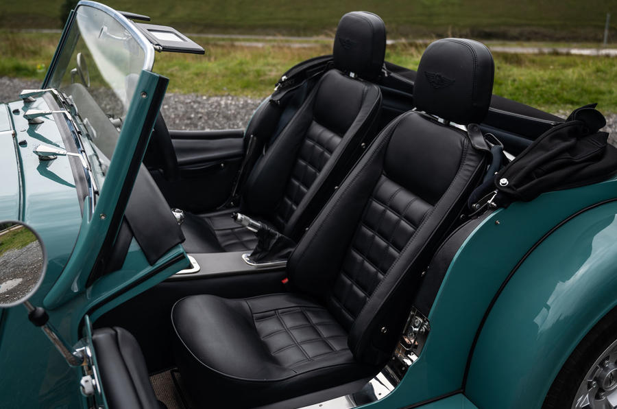 Morgan Plus Four 2020 road test review - cabin