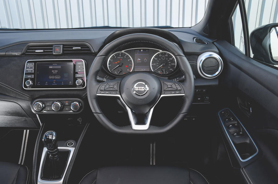 Nissan Micra N-Sport 2019 road test review - dashboard