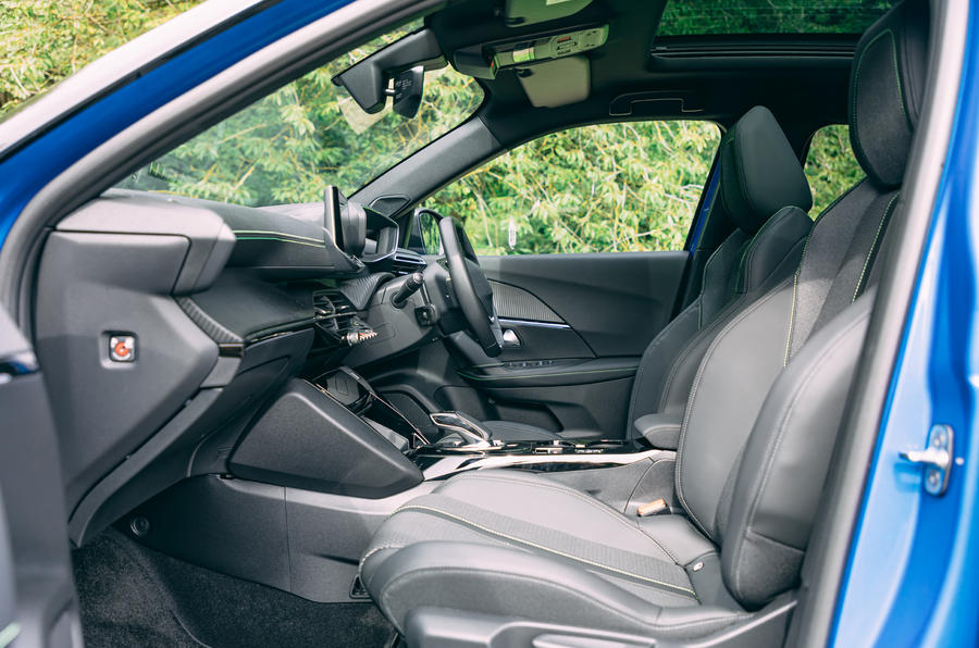 Peugeot e-2008 2020 road test review - cabin
