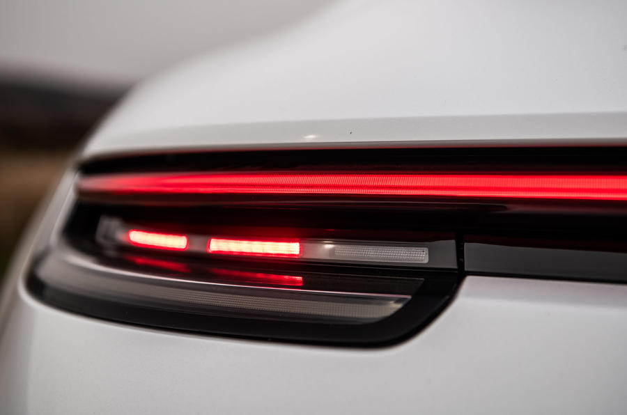 Porsche 911 Carrera S 2019 road test review - rear lights