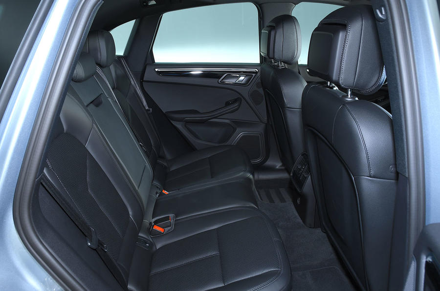 Porsche Macan 2019 road test review - rear seats