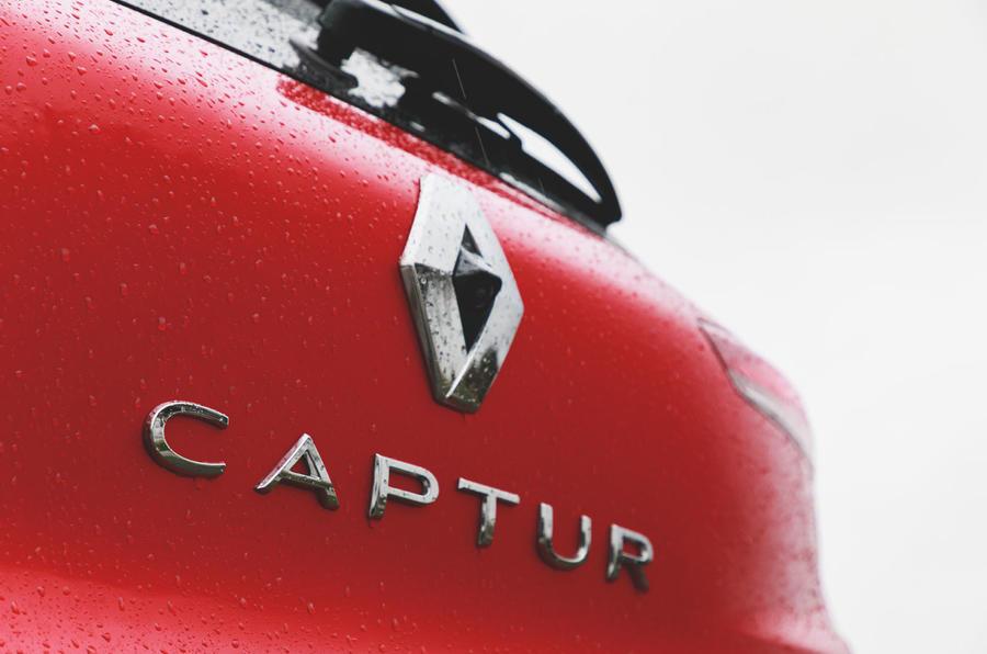 Renault Captur 2020 road test review - reversing camera