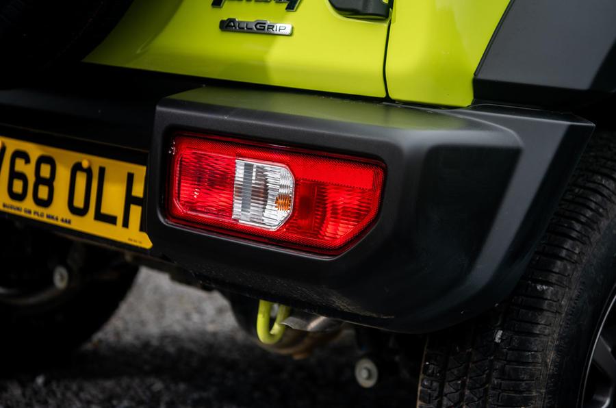 Suzuki Jimny 2018 road test review - rear lights