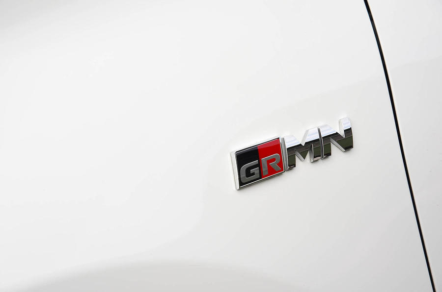 Toyota Yaris GRMN boot badge