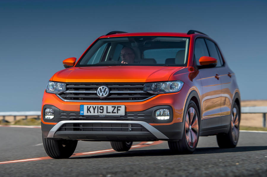 Volkswagen T-Cross 2019 review - cornering front