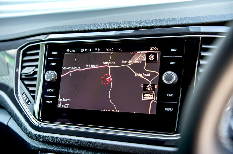 Volkswagen T-Roc 2019 road test review - drive modes