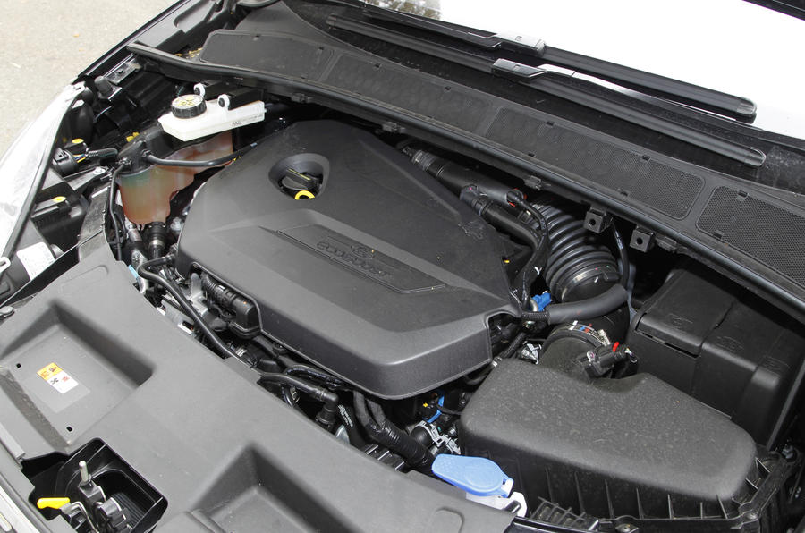 1.6-litre Ecoboost Ford Galaxy engine