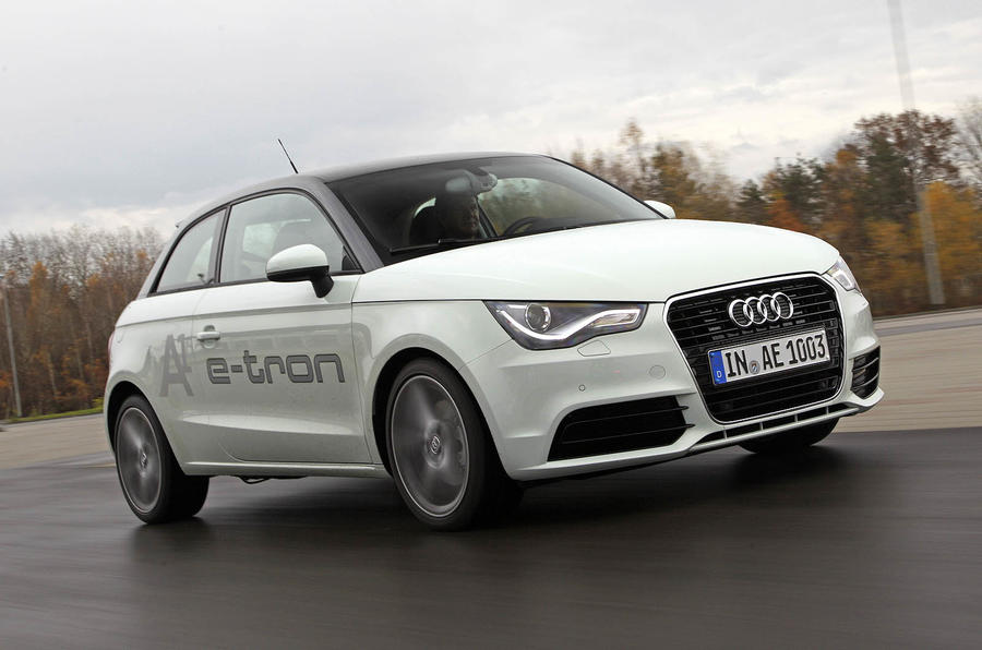 audi a1 e tron review autocar. Black Bedroom Furniture Sets. Home Design Ideas