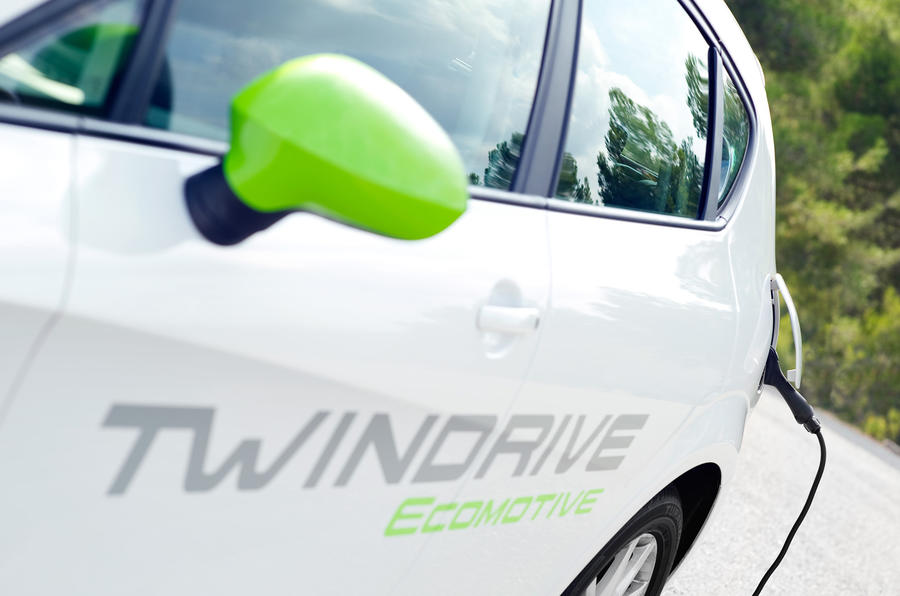 Seat Leon TwinDrive decals