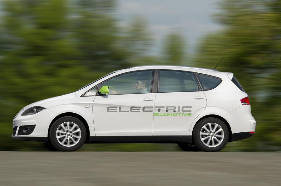 Seat Altea XL EV side profile