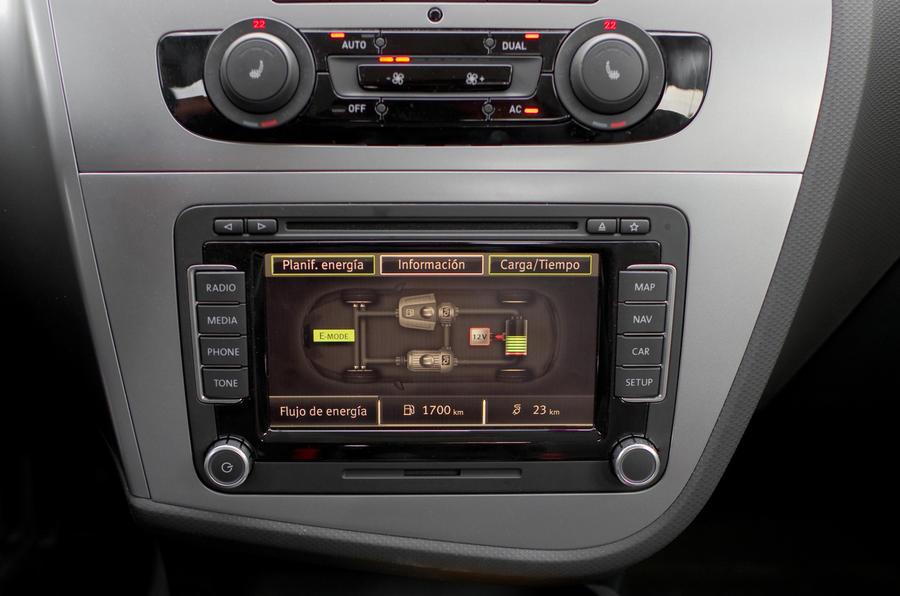 Seat Leon TwinDrive infotainment