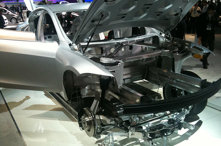Detroit motor show: Tesla Model S tech