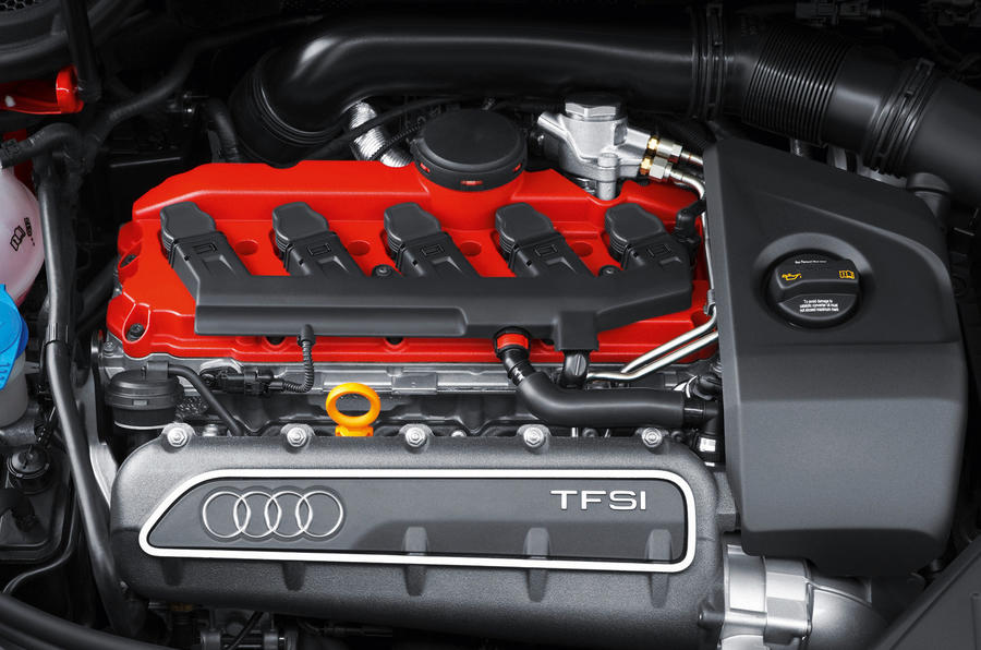 2.5-litre TFSI Audi RS3 engine