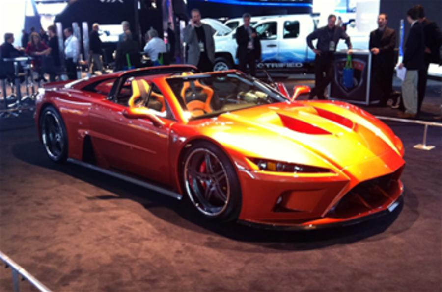 Detroit motor show: Falcon F7