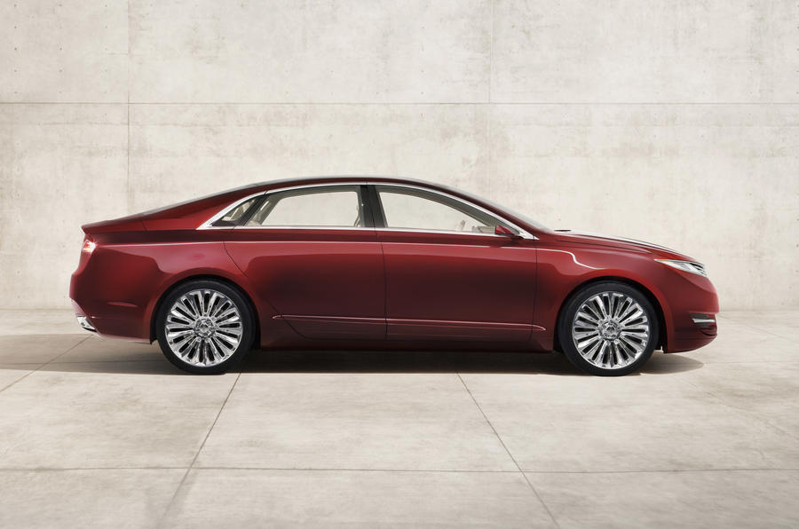 Detroit motor show: Lincoln MKZ concept