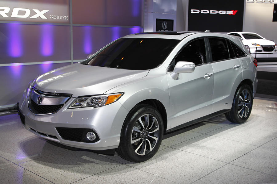 Detroit show: Acura RDX and ILX