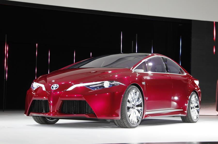Detroit motor show: Toyota NS4 concept