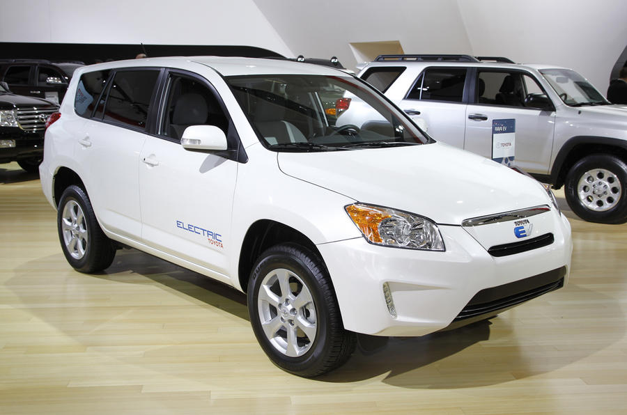 Detroit: Rav4/IQ EV for 2012