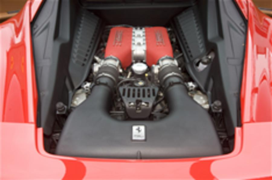 Ferrari plans turbocharging