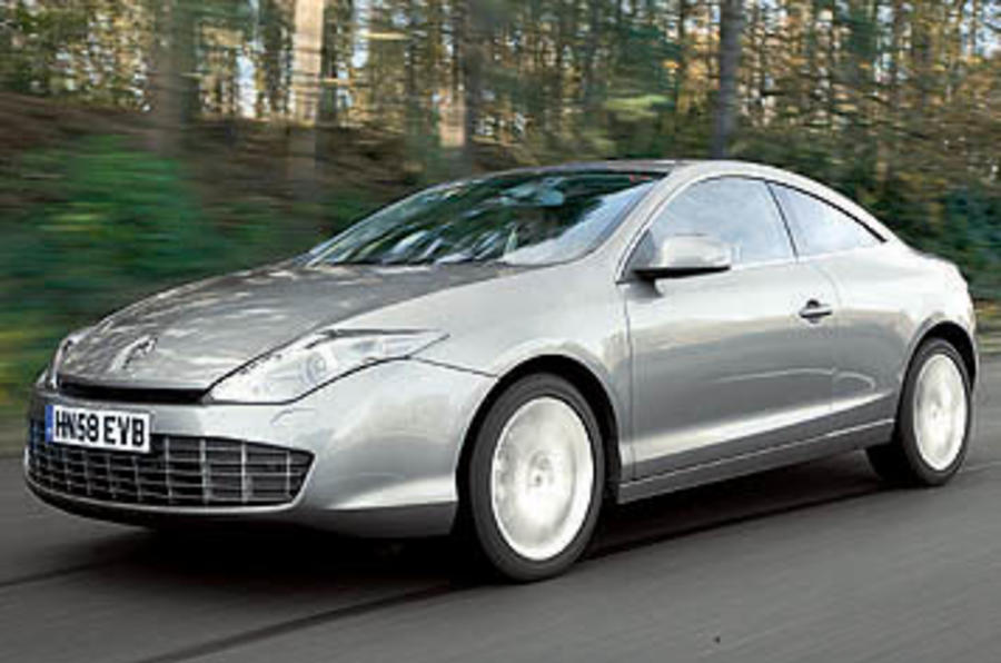 renault laguna coupe 3 5 v6 gt review autocar. Black Bedroom Furniture Sets. Home Design Ideas