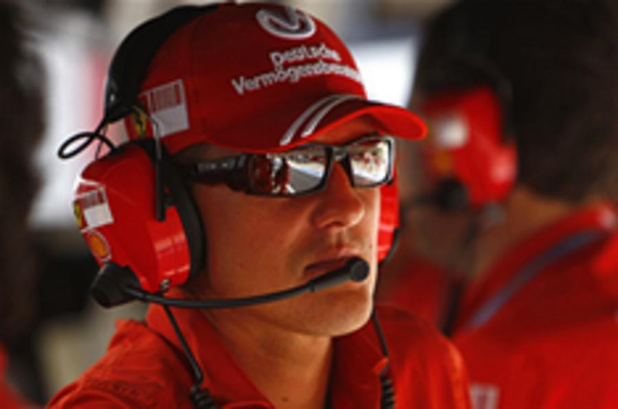 Schumacher loses Ferrari F1 role