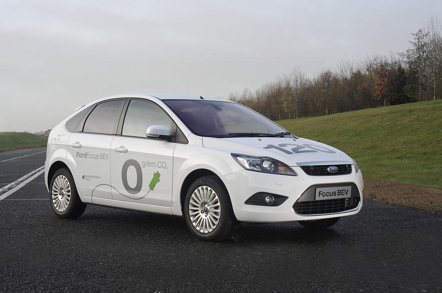 Ford Focus BEV electric vehicle