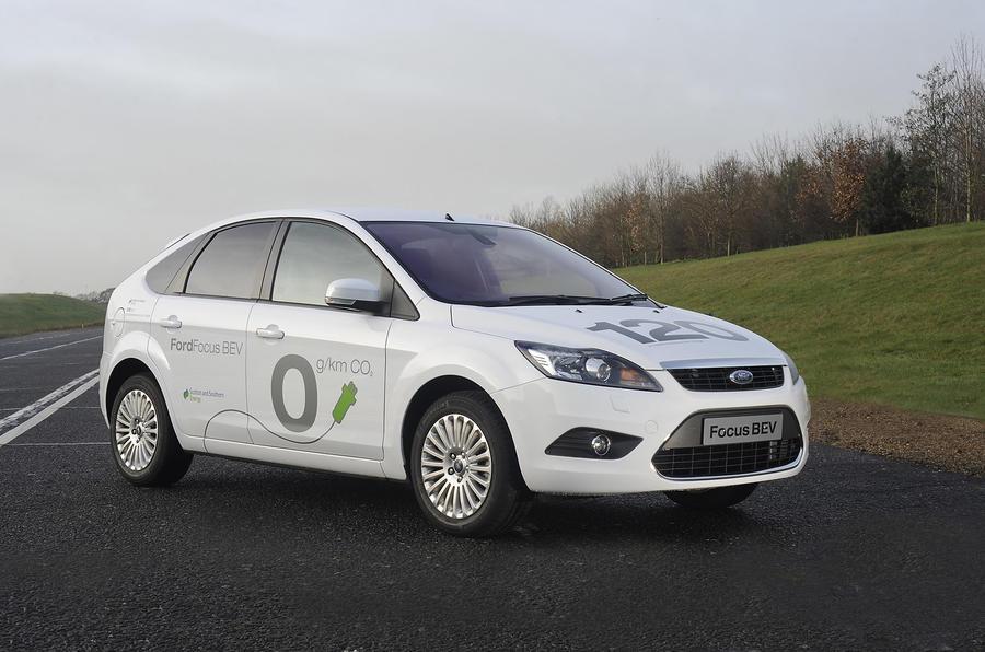 Ford Focus BEV electric vehicle