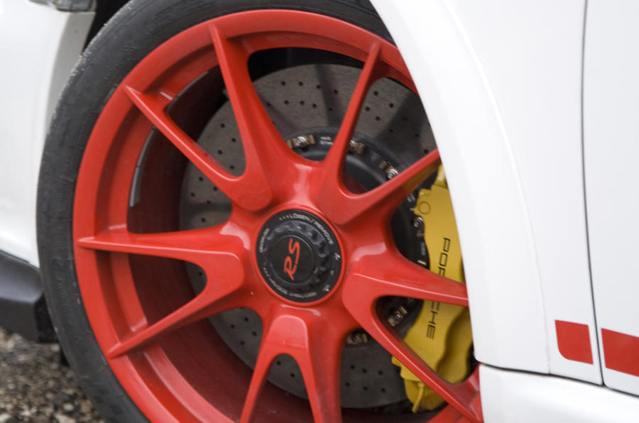 Porsche 911 GT3 RS alloys