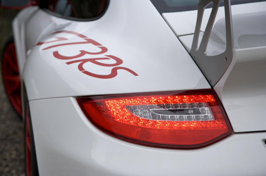 Porsche 911 GT3 RS rear lights