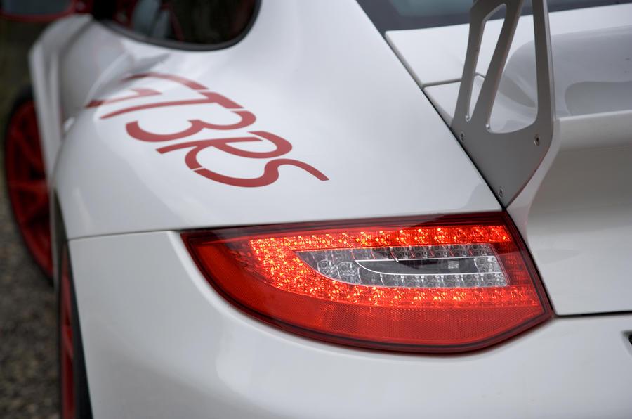 Porsche 911 GT3 RS rear lights