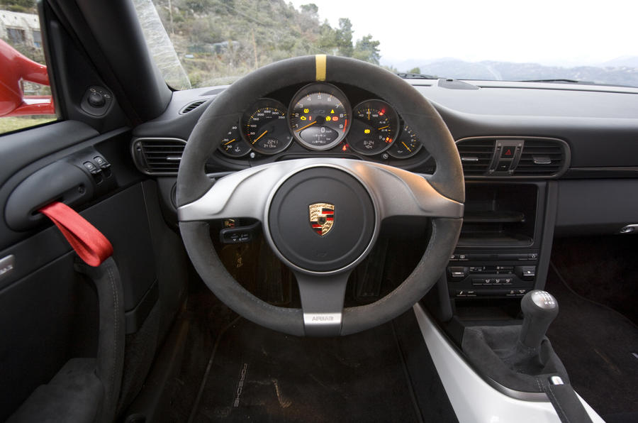 Porsche 911 GT3 RS steering wheel