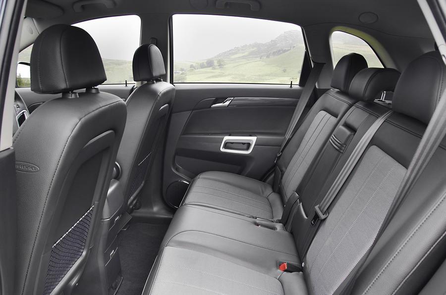 Vauxhall Antara rear seats