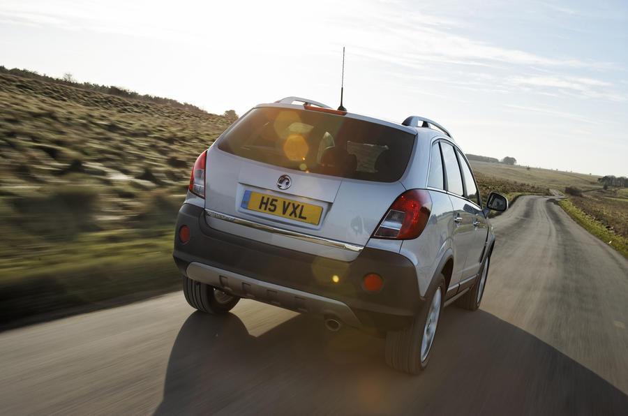 Vauxhall Antara rear