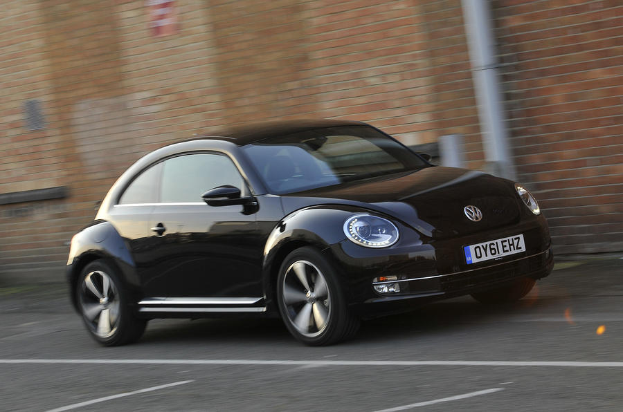 VW Beetle side profile