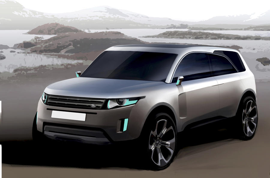 We design a Land Rover for 2014