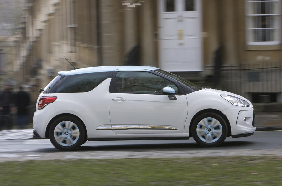 Citroen DS3 vs Mini Cooper vs Fiat 500