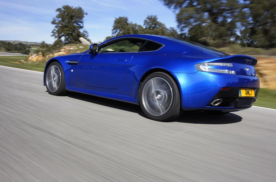 Aston Martin V8 Vantage S rear