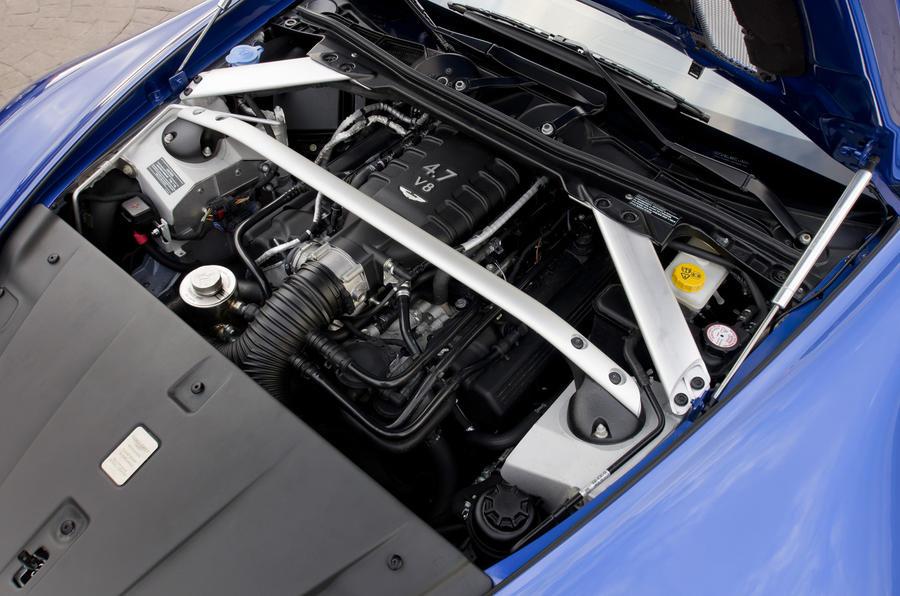 4.7-litre V8 Aston Martin Vantage S engine