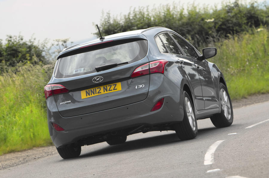 Hyundai i30 Tourer rear