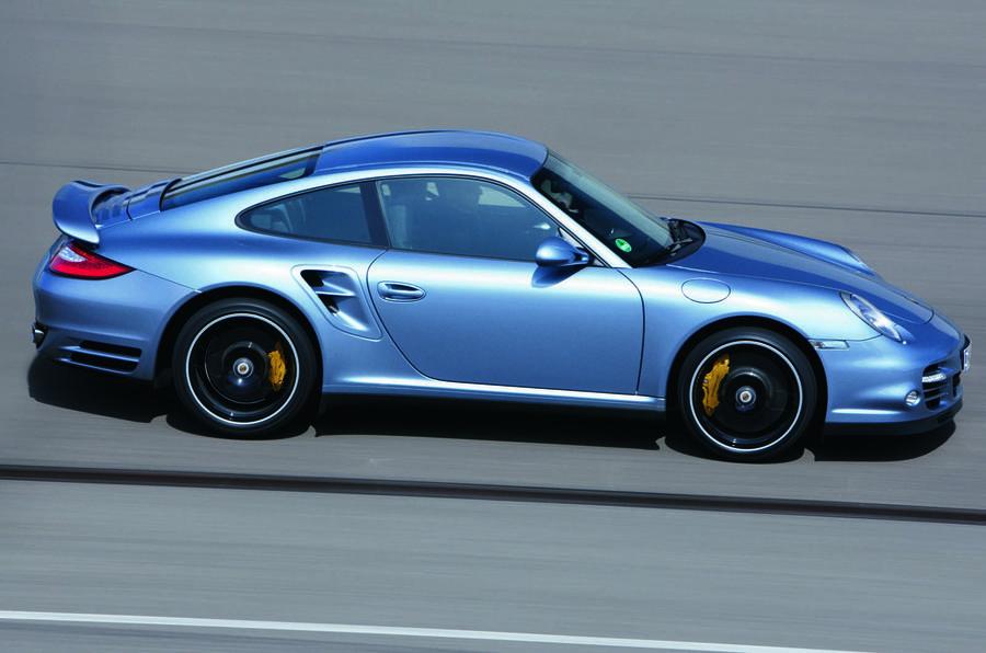 Porsche 911 Turbo S side profile