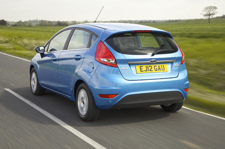 Ford Fiesta rear