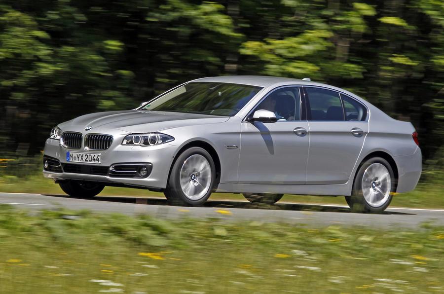 BMW 530d Luxury side profile