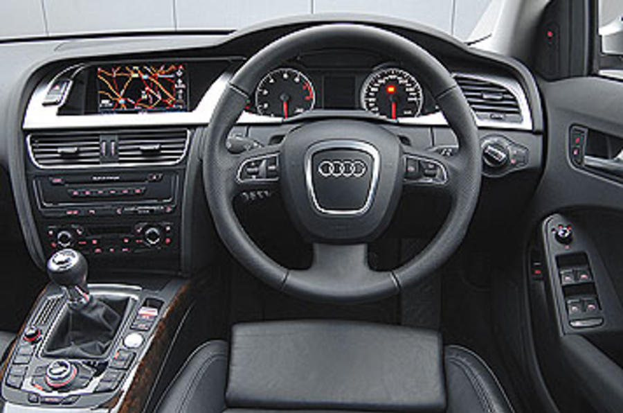 Audi A4 2.0 TDI Avant first UK drive