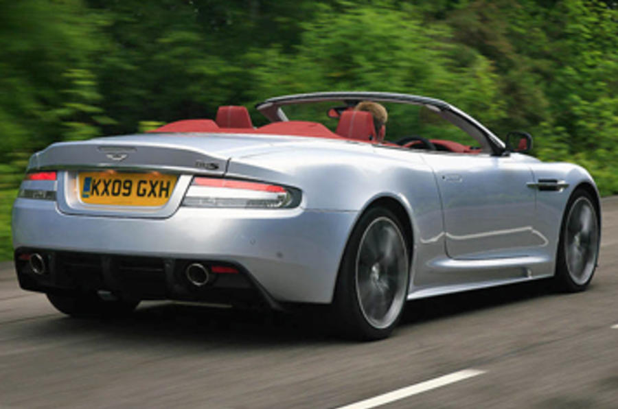 Aston Martin DBS rear quarter