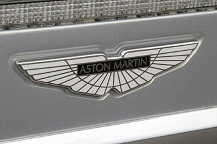 Aston Martin DBS badging