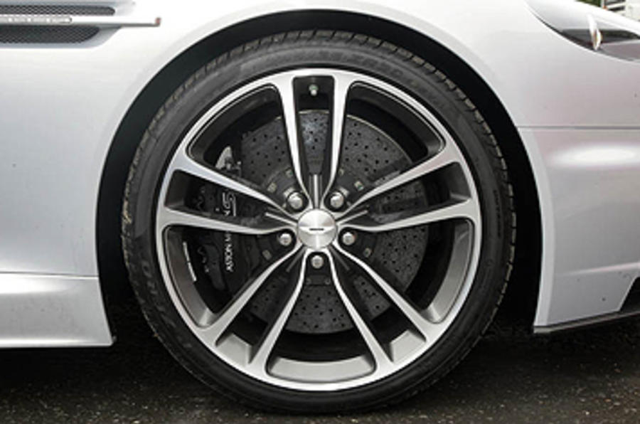 Aston Martin DBS alloy wheels
