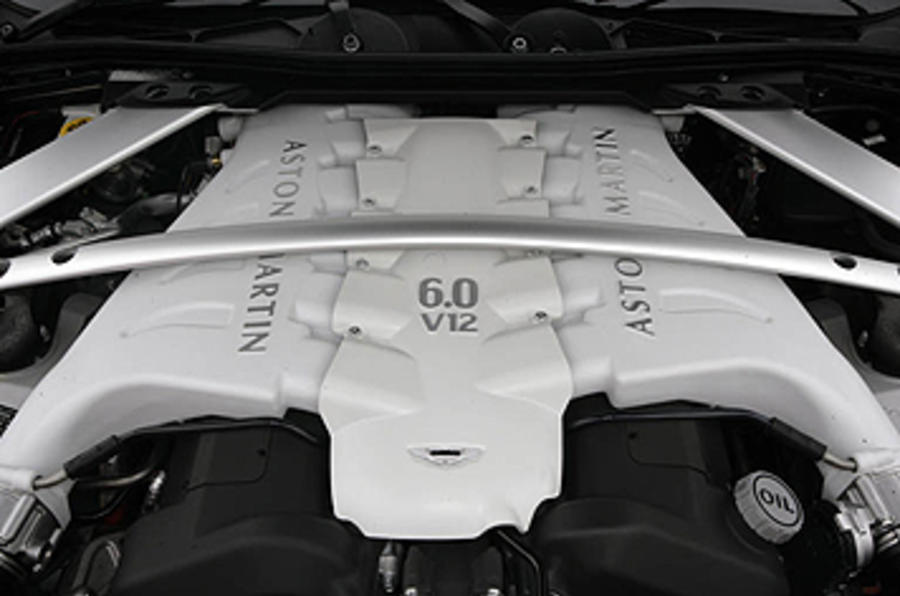5.9-litre V12 Aston Martin DBS engine