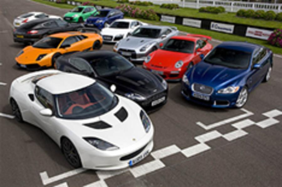 Evora is UK's Best Driver's Car