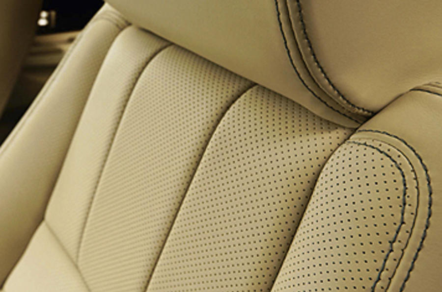 Range Rover Sport leather seats