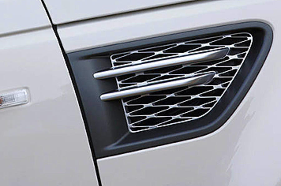 Range Rover Sport side vents